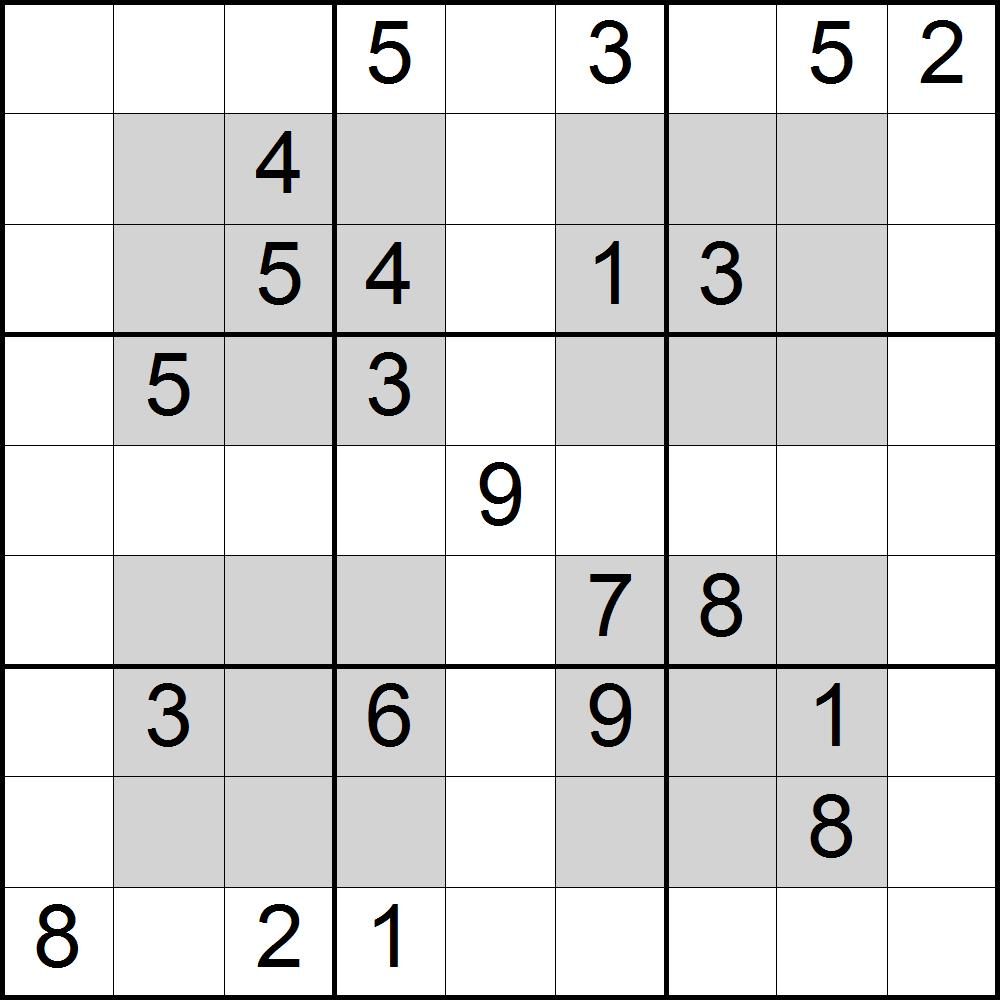Puzzle Maker Pro Sudoku Variations   Designing for Print on