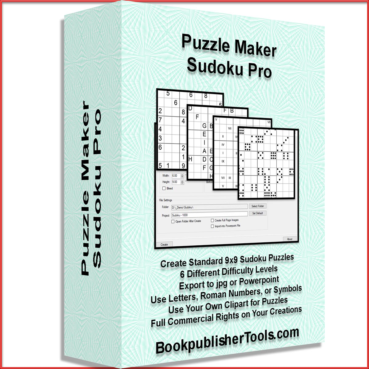 Puzzle Maker Sudoku | Designing for Print on Demand