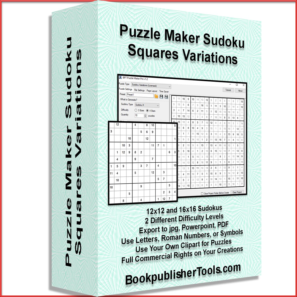 Puzzle Maker Pro Sudoku Variations | Designing for Print on Demand
